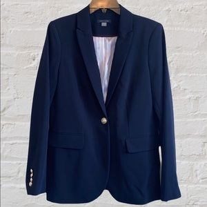 Tommy Hilfiger Navy Blazer Women's Sport Coat 8